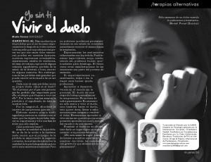 Artículo en revista MUJERES, Oaxaca, México