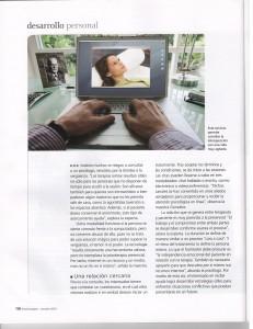 Psychologies Mexico, octubre 2010. Artículo: Psicoterapia en línea