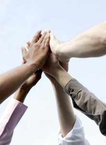 La union hace la fuerza-manos