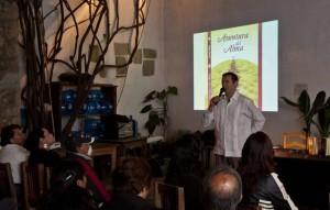 Presentación del libro de Aventura del Alma de Josep Soler. Oaxaca, México