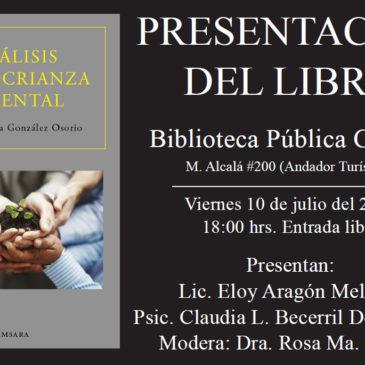 Invitación a presentación del libro: La crianza parental…