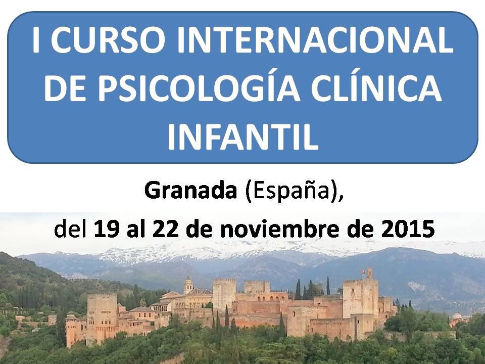 I Curso Internacional de Psicología clínica infantil
