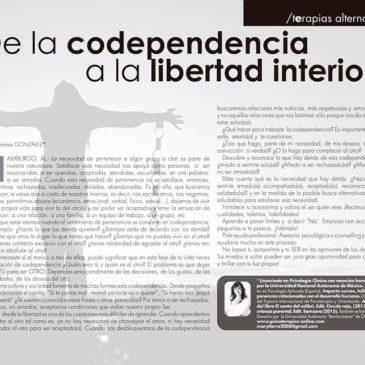 De la codependencia a la libertad interior