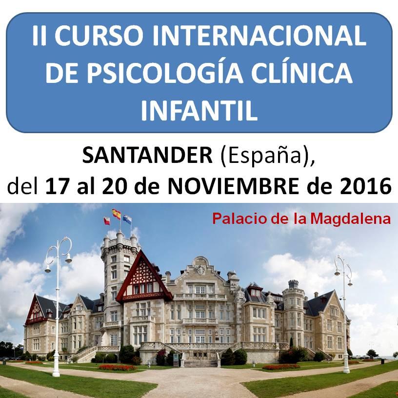 II Curso Internacional de Psicología Clínica Infantil