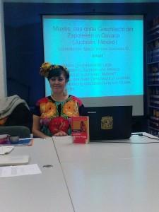 Maria Teresa Gonzalez osorio-charla