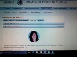 Maria Teresa Gonzalez osorio- ventanilla virtual de salud mental