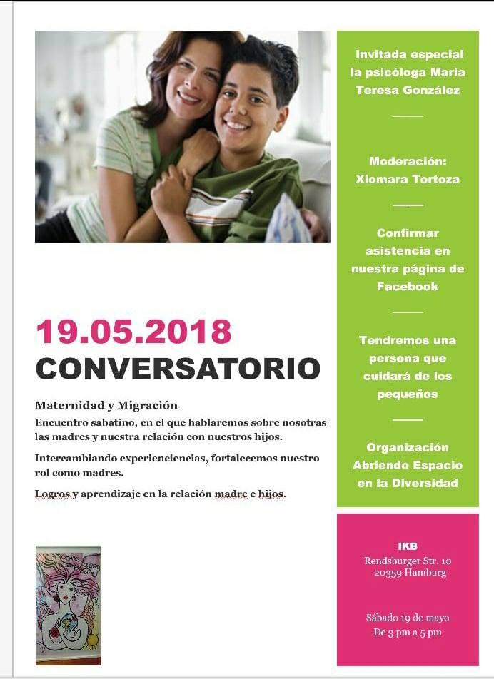 Conversatorio: Maternidad y Migración