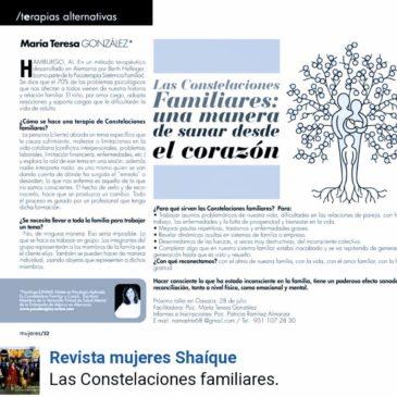 Sanando desde el corazón: las Constelaciones familiares