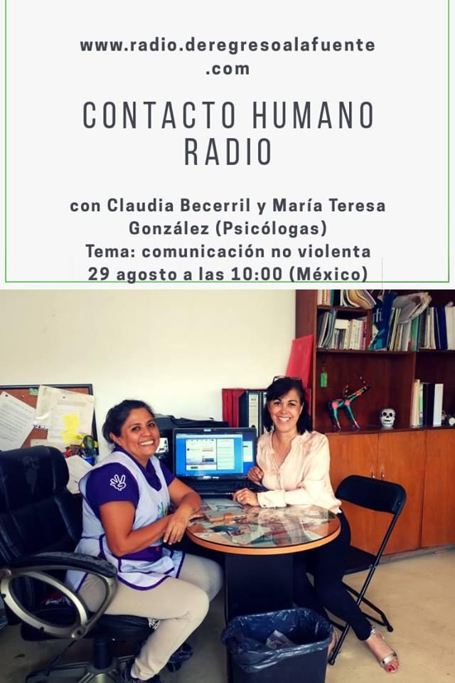 Charla radiofónica: Comunicación No Violenta