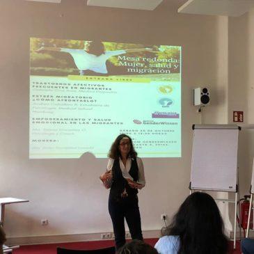 Salud, mujer y migración: Mesa redonda