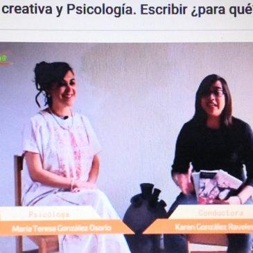 Entrevista sobre la escritura creativa