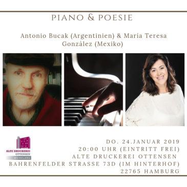 Piano & Poesía