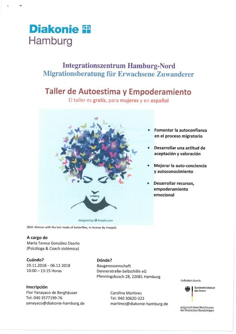 Taller de Autoestima y Empoderamiento para mujeres