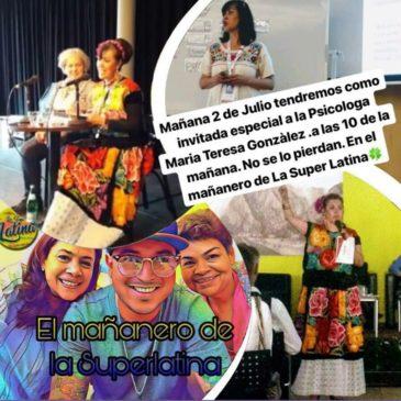 """Escúchanos por Radio online """"La super latina"""""""