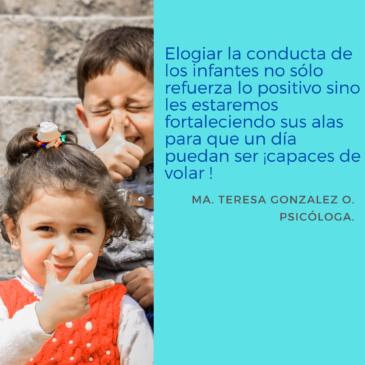 Elogiando a los infantes ¿acierto o error?