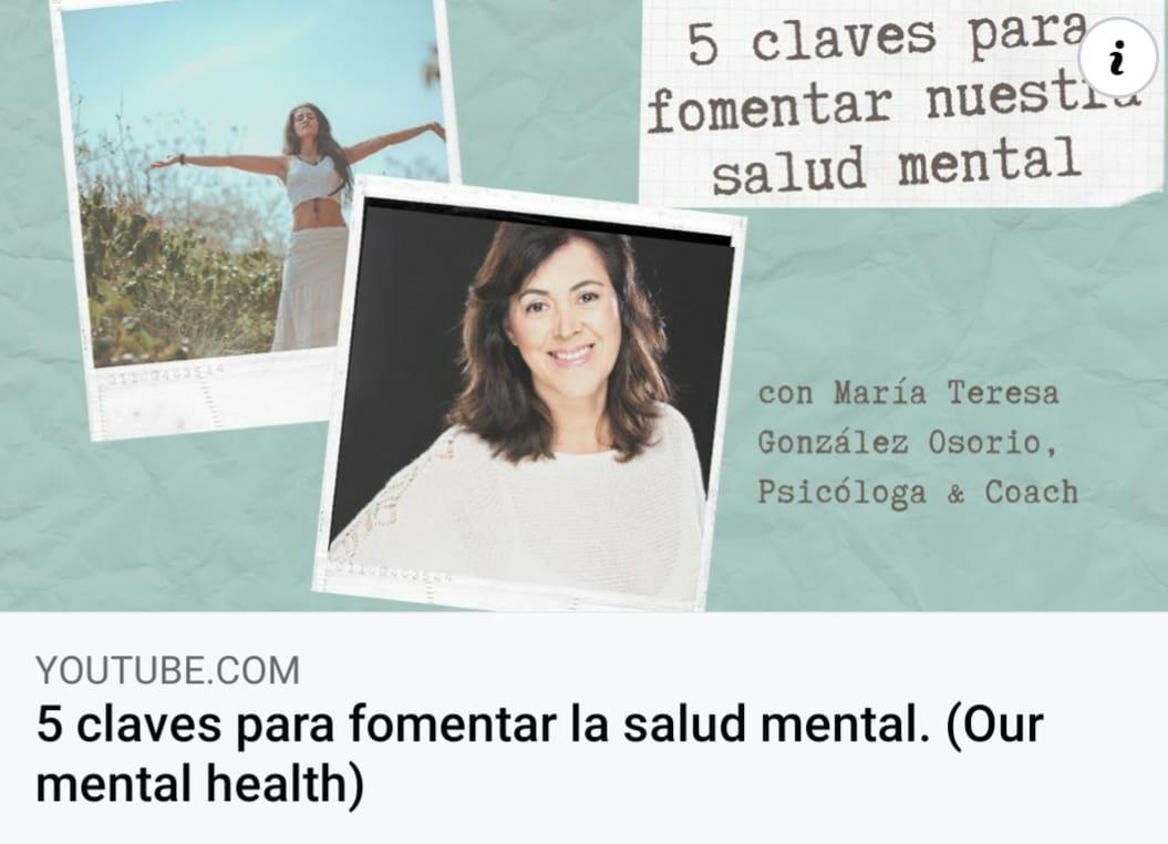 5 claves para fomentar la salud mental