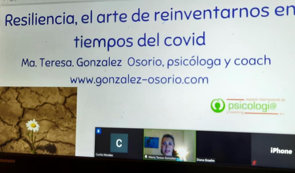 conferencia: sobre la resiliencia