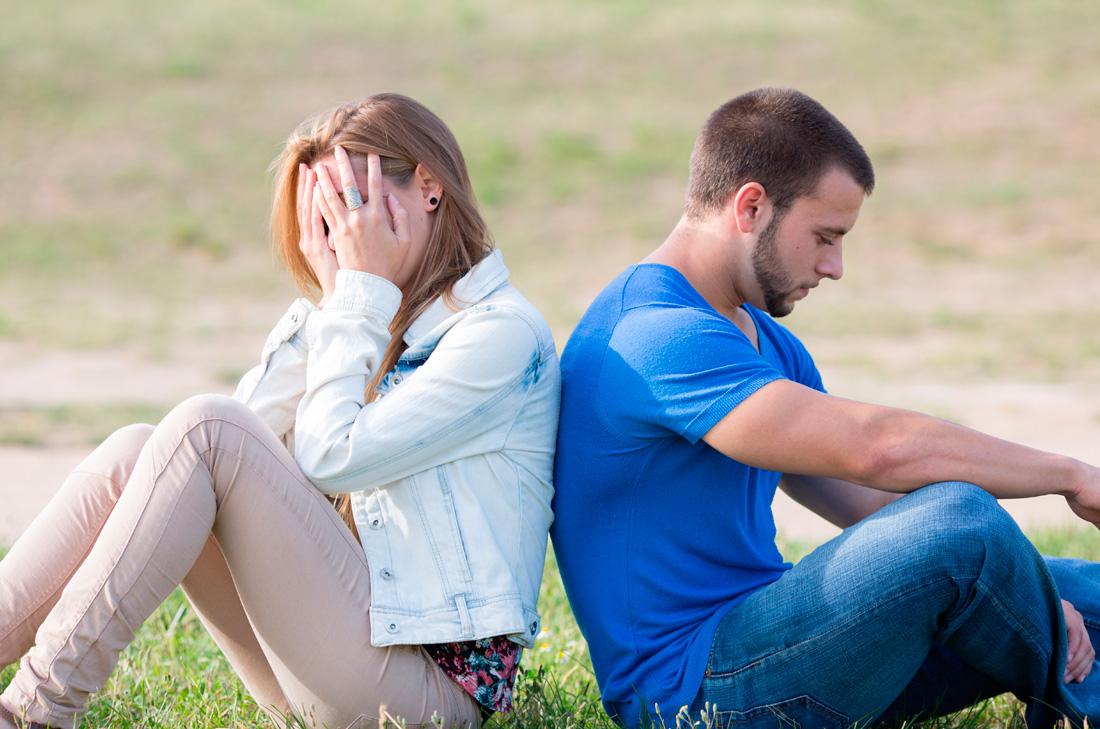 Ruptura de pareja y síntomas de depresión